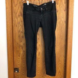 JCrew Maternity Toothpick Black Jean
